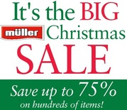 Muller Department Stores Savings Value Free Shipping 30% off sale ....