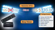 Tashan IPTV,  Best Selling IPTV of year 2016.